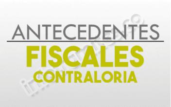 ANTECEDENTES FISCALES CONTRALORIA