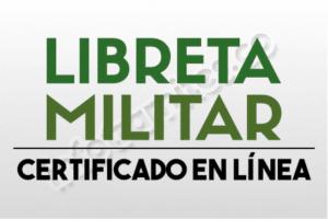 Libreta Militar : Obtener el Certificado, el Costo y su Estado actual