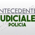 ANTECEDENTES JUDICIALES POLICIA