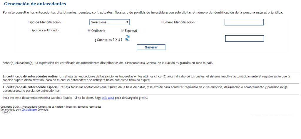 Antecedentes-procuraduria-en-línea-formulario