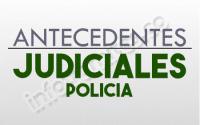Antecedentes Judiciales y Penales