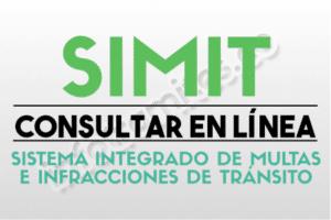 SIMIT - Consultar Multas, Comparendos con cédula y Pagarlos en Línea