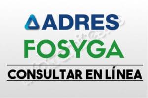 FOSYGA (ADRES) Consultar - Certificado de Afiliación a EPS y pensión