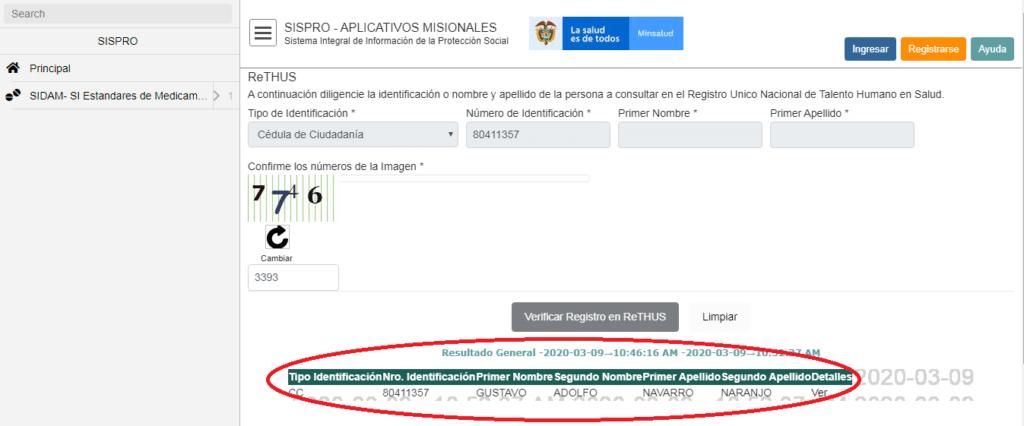 Identificacion-Profesional-ReTHUS