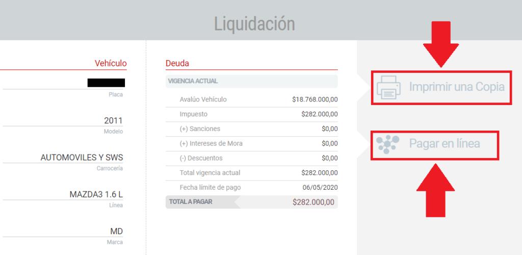 Barranquilla Pagar En Línea Impuesto Vehicular