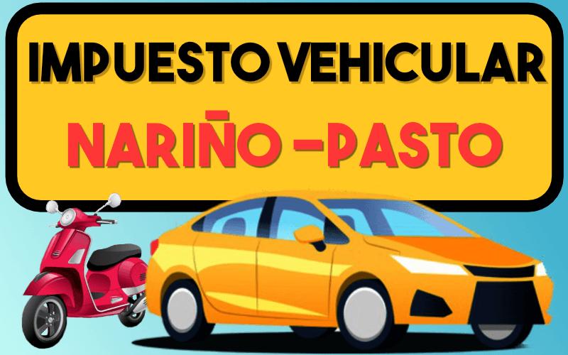 Impuesto Vehicular NariÑo Pasto