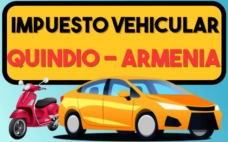 Impuesto Vehicular Quindio Armenia