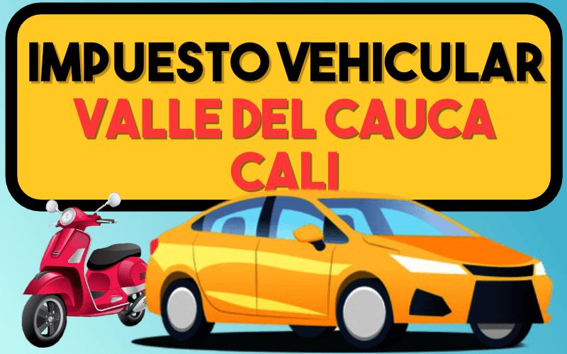 Impuesto Vehicular Valle Del Cauca Cali