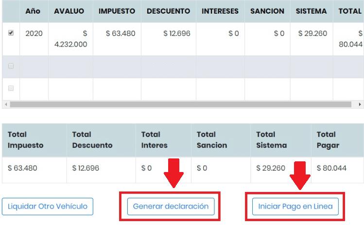 Norte De Santander Liquidando El Impuesto En Línea