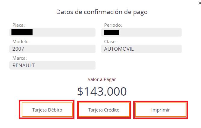 Risaralda Formas De Pago Impuesto Vehicular