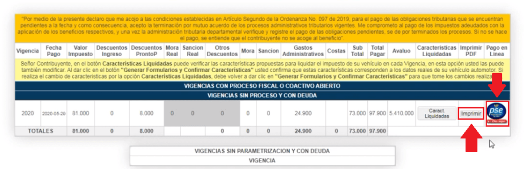 Cundinamarca Impuesto Vehicular Pagar En Línea