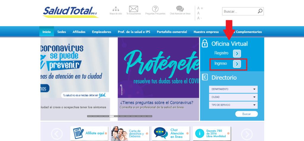 Citas Médicas Salud Total 11