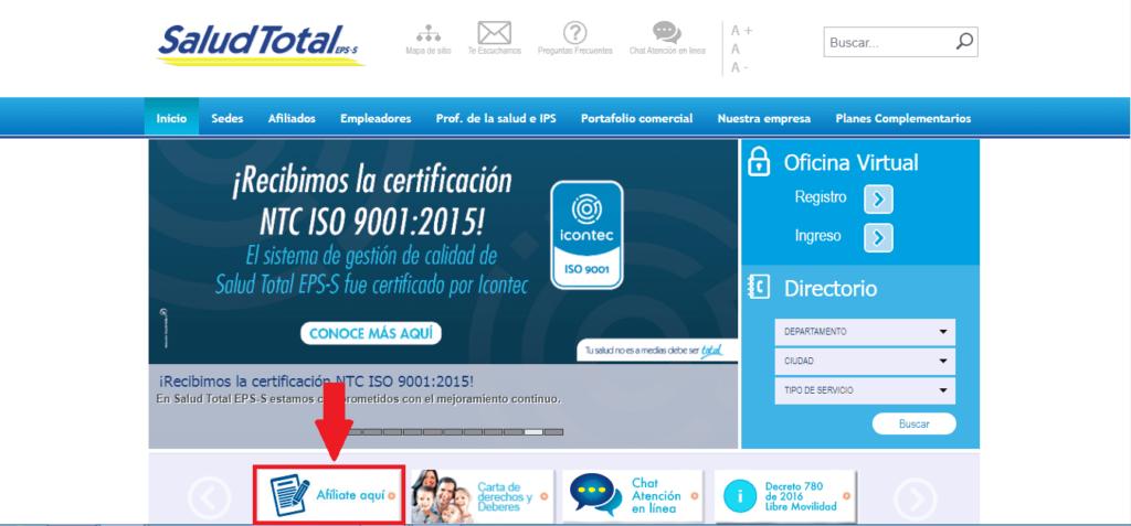 Citas Médicas Salud Total 15