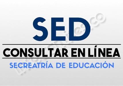 SED Secreatria Educacion